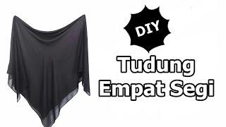 """DIY: Menjahit tudung bidang 55"""" / How to make square scarf"""
