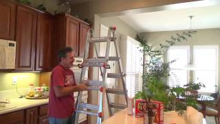 How to use a Little Giant Ladder