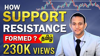 How Support And Resistance Is Formed? | Tamil |