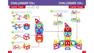 Magformers Idea Booklet 62 piece