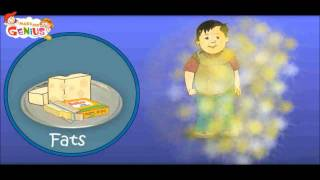Nutrition (Food ) Table Video For Kids-Food Pyramid -Heathy Diet