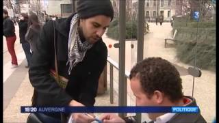 preview picture of video 'Reportage France 3 Auvergne - 5 mars 2014 - Transports gratuits à Clermont-Ferrand'