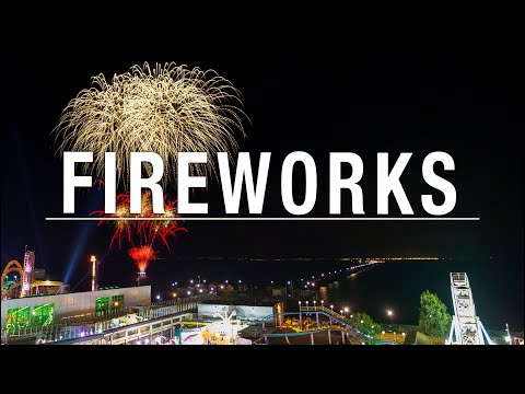 how to capture fireworks photography