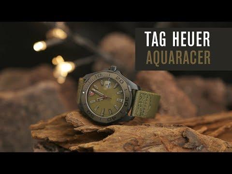 Tag Heuer Aquaracer 300 - Titan - PVD - Test | Review | Deutsch