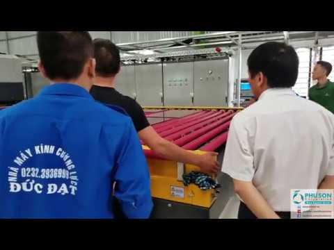 Dây chuyền tự động sản xuất kính cường lực LANDGLASS
