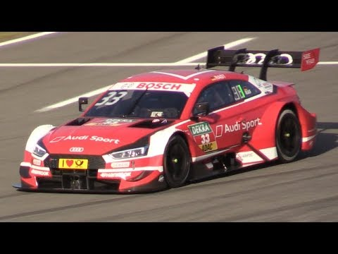 Audi RS5 DTM 2018 in Action at Hockenheimring-V8 Pure Sound