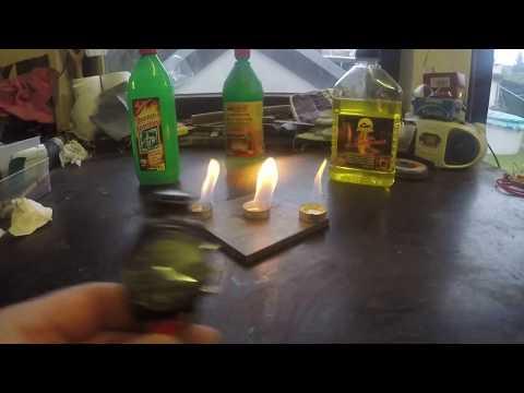 Spiritus , Ethanol oder Brennpaste ???