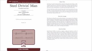 Steel Drivin' Man, the Ballad of John Henry (CM9489) Arr. by Neil Johnson, Ed. by Jacob Narverud