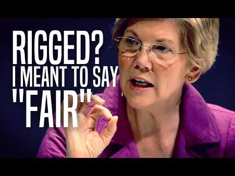Elizabeth Warren Flip-Flops on Rigged Primary Claim—Now Says it Was