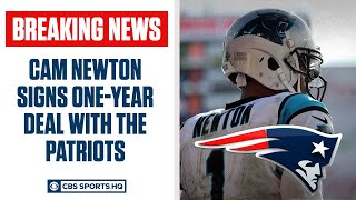 BREAKING: Cam Newton agrees to 1-year deal with New England Patriots | CBS Sports HQ