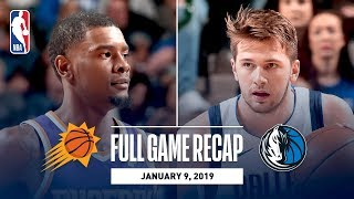 Full Game Recap: Suns vs Mavericks | Luka Doncic Drops 30 Against PHX