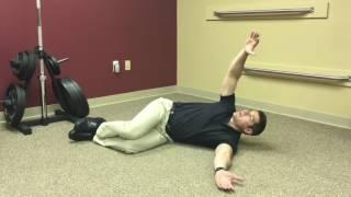 Open Book Stretch