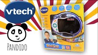 VTECH deutsch Lernspielzeug - KidiGo Mutimediaplayer - Spielzeug ausgepackt &angespielt - Pandido TV