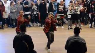 Hip hop Duo Adults - IDO world championship Rimini, Italy 2015 /Girlz on the dance floor