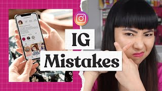 Instagram Marketing Mistakes (Why you're not growing on Instagram!)