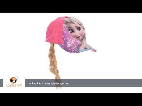 Disney Frozen Die Eiskönigin Cap mit Zopf Basecap Kappe Mütze Kinder Mädchen Cappy |