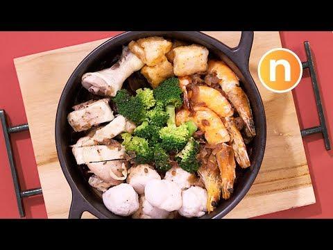Poon Choi (Hakka)   Pen Cai  [Nyonya Cooking]