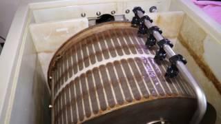 Installing A 40w Amalgam UV Light In A Drum Filter