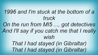 Arctic Monkeys - On The Run From The Mi5 Lyrics