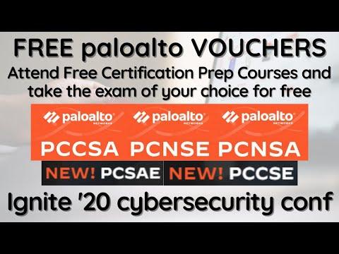 100% Free Vouchers for all Palo Alto Certification   Palo Alto Networks