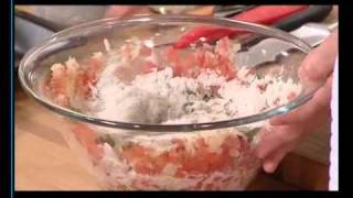 H Ντίνα Νικολάου μαγειρεύει στην Γαλλική Τηλεόραση 1 (Μέρος Α)