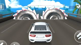 DEADLY RACE #3 Speed Car Bumps Challenge 3d Gameplay Android IOS