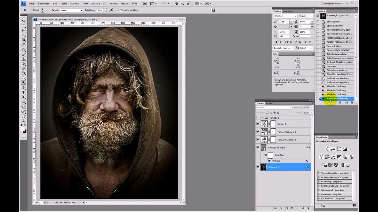 Dragan-Effekt – Photoshop-Tutorial