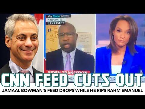 Jamaal Bowman's CNN Feed Drops While He Rips Rahm Emanuel Apart