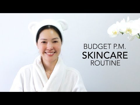 Affordable Evening Skincare Routine | Fall