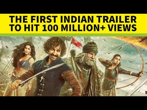 Top 10 Most Viewed Indian/Bollywood Teasers/Trailers on Youtube of All Time (видео)