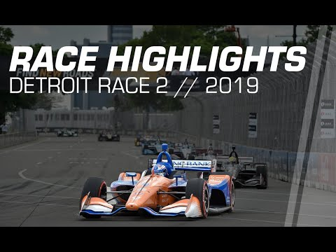 2019 NTT IndyCar Series: Detroit Dual 2 Highlights