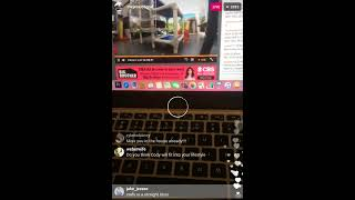 Big Brother 19 Jessica Graf's first Instagram Live in CA on Aug 11, 2017.