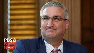 WATCH: Indiana governor Eric Holcomb gives coronavirus update -- March 26, 2020