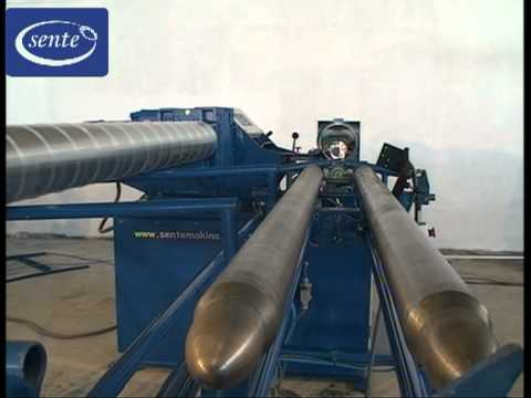 SPIRAL DUCT MACHINE (TUBEFORMER) WITH FORMING HEADS
