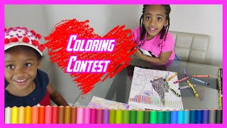 FAMILY TIME!!! (COLORING CONTEST)