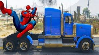 Мультики про Машинки Машинки Мультики для Детей Приключения грузовика и #Человека паука #Маквин