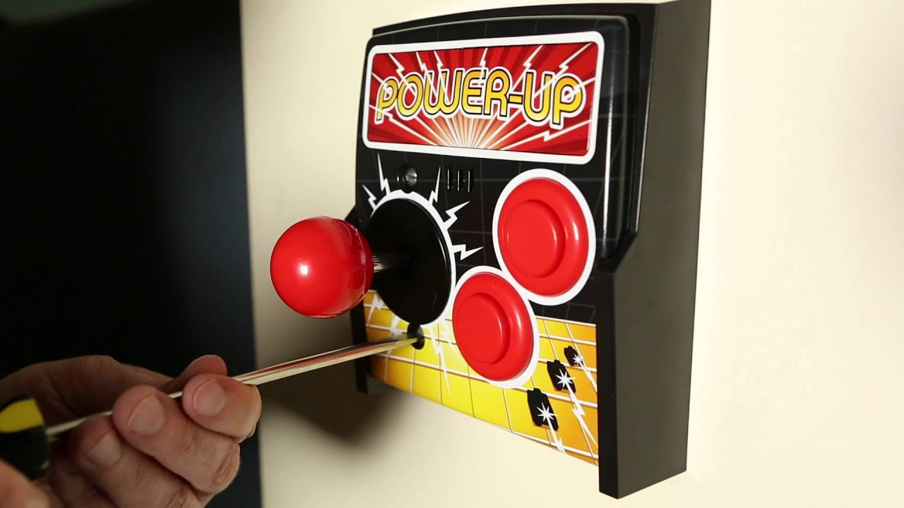 Turn On Your Light Switch With An Arcade Stick. This Is Living.