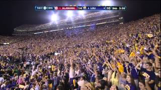 #1 Alabama vs. #5 LSU 2012