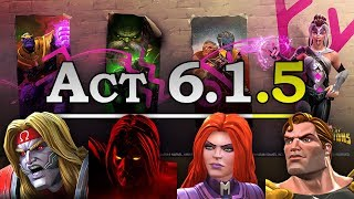 Act 6 - Chapter 1 - Quest 5 | Marvel Contest of Champions Live Stream