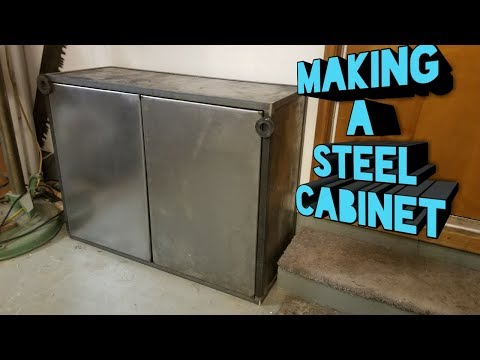 Making a Steel Cabinet part 1