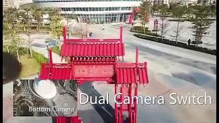 Квадрокоптер Дрон Dron S60 PRO дрон с 4K и HD камерой до 25 минут полета