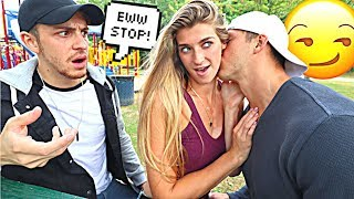 Being PDA To See How My Boyfriends BROTHER REACTS!