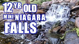 Mini Niagara Waterfalls And Pond In Maryland: Greg Wittstock, The Pond Guy