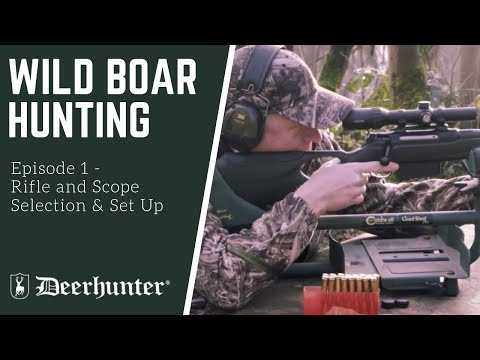 Selecting rifle and scope