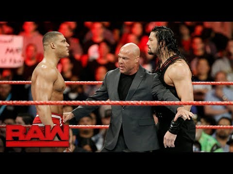 Jason Jordan challenges Roman Reigns: Raw, Dec. 4, 2017