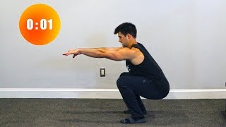 Basic In Home Workout | No Equipment Needed by Onlykinds Fitness [5 Minute Workouts]