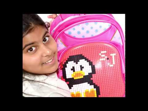 حقيبة المرحلة الإبتدائية - بنات