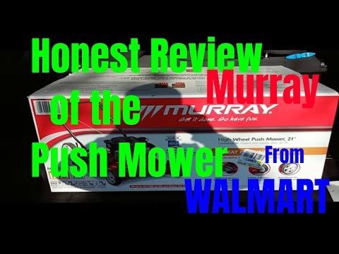 Murray High Wheel Push Mower Only at Walmart Honest Review