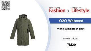 Men's windproof coat - Global Sources Fashion