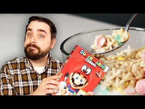 EJ Reviews: Super Mario Cereal